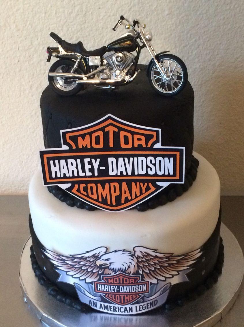 Harley Davidson Cake Birthday Cakes For Men Harley Davidson Cake Harley Davidson