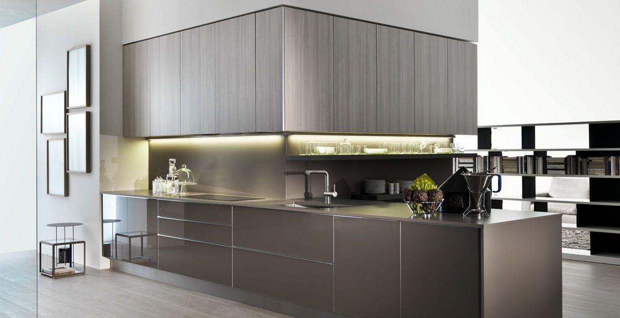 Contemporary kitchen / laminate / lacquered - INDADA by Nicola Gallizia - Dada