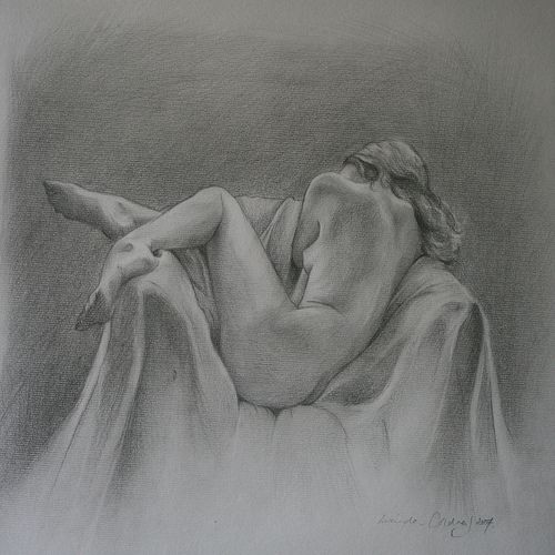 Pencil Sketches Of Women's Bodies