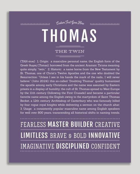 Bedeutung Name Thomas