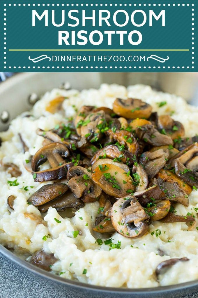 Mushroom Risotto Mushroom Risotto Recipe  Mushroom Rice  Easy Risotto