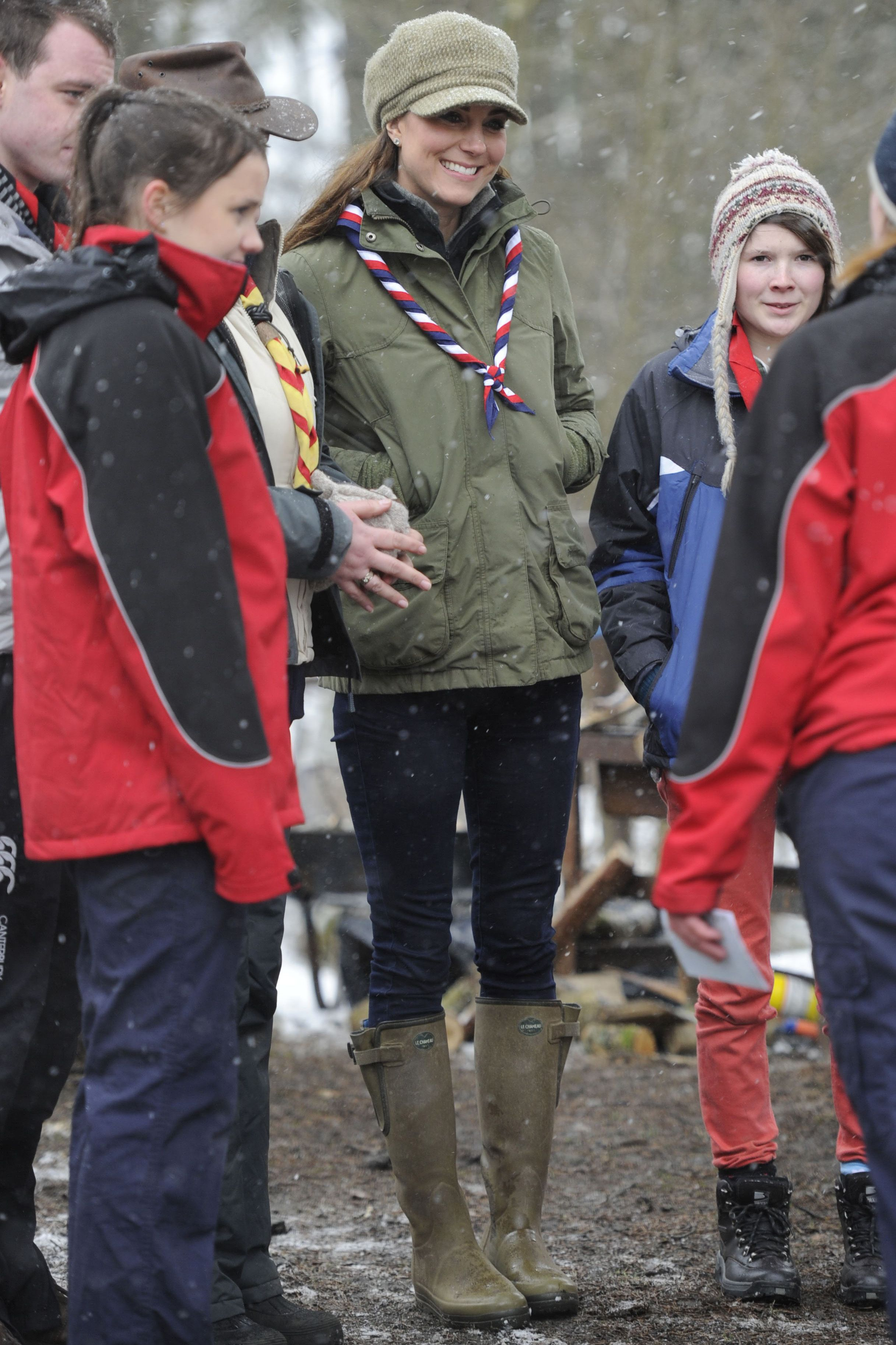Kate Middleton To Spend Day Volunteering With The Scouts forecasting
