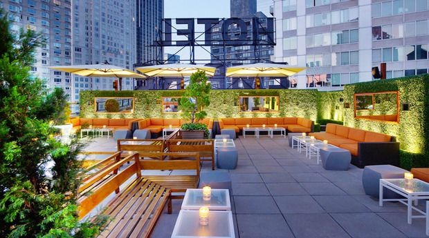 Pin by Rochelle Crow on Cool | Rooftop bars nyc, Hotel ...