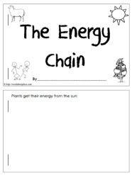 Energy Chain Worksheet | Worksheets, Math, Grade 1