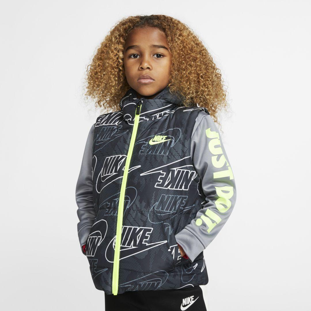 Nike Therma Little Kids Full Zip Puffer Hoodie Nike Cloth Boys Puffer Jacket Boys Long Sleeve Shirts Boys Long Sleeve [ 1080 x 1080 Pixel ]