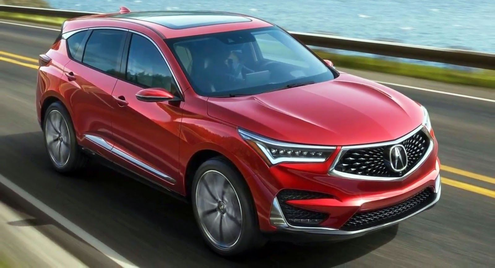 2019 acura rdx first photos of restyled luxo suv
