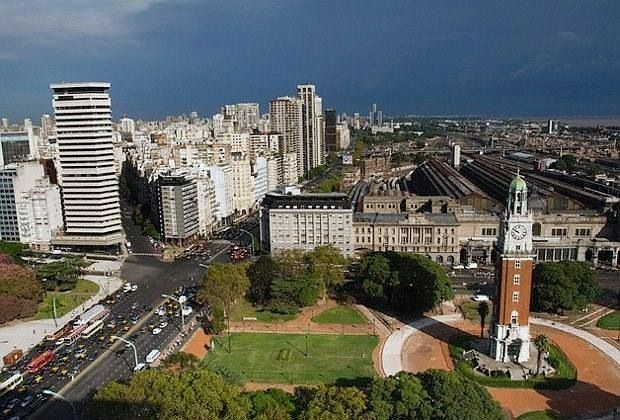 Torre de los ingleses. Retiro. Buenos Aires