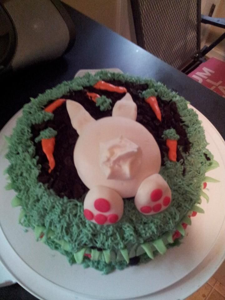 Made this for the kiddos this year for easter, saw in on the web and had to try it myself!