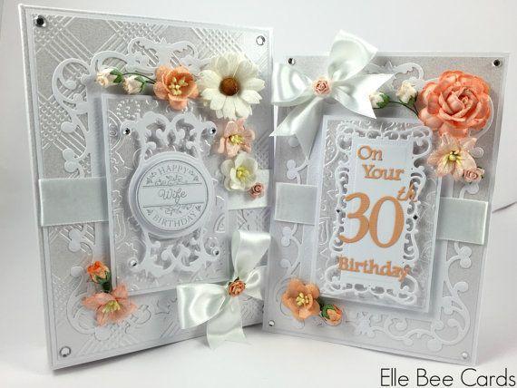 Boxed Birthday Card Personalised Birthday Card Luxury Etsy Boxed Birthday Cards Personalized Birthday Cards Birthday Cards