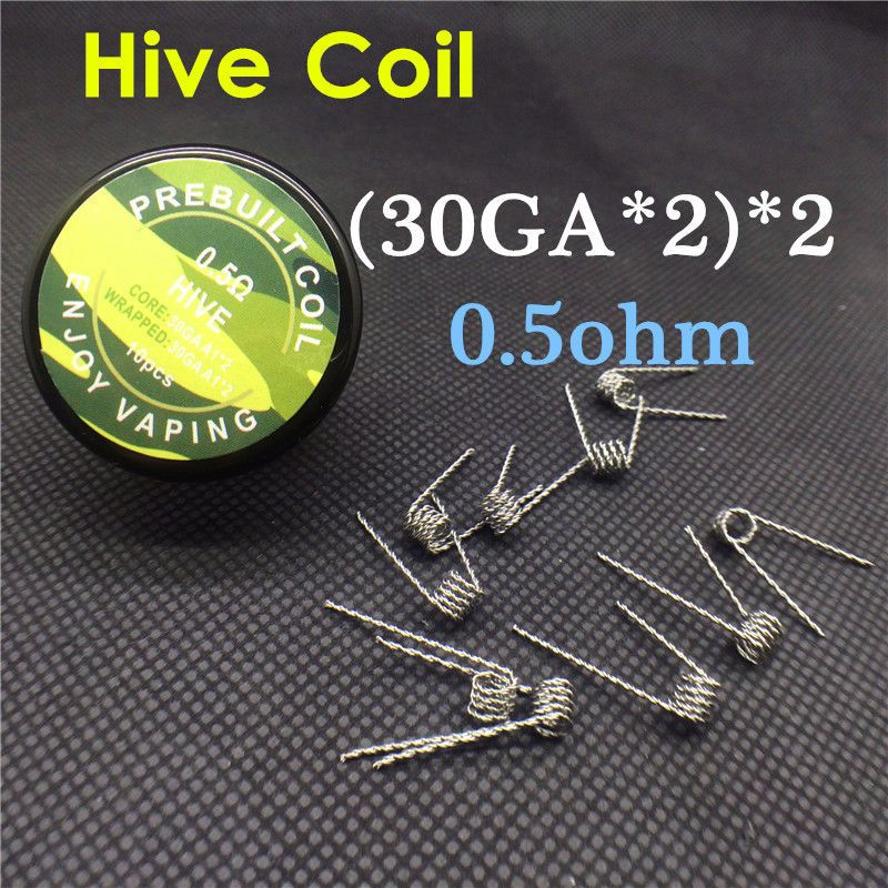 Hive Coils. Made by two 30GA kanthal A1 twisted, then two twisted ...