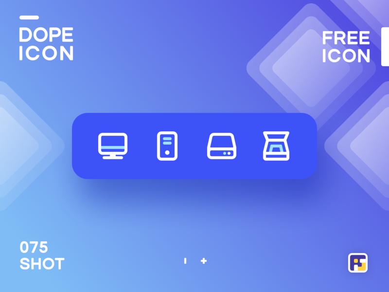 Dopeicon Icon Showcase 075 Icon Logo Illustration Free Icons