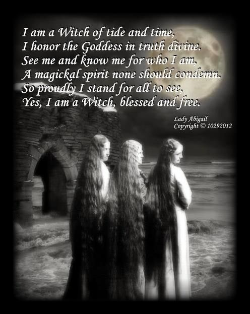 Yes I Am A Witch Blessed Free Magie See Hexen
