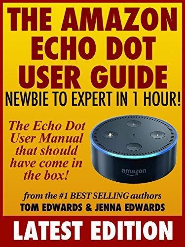 the amazon echo dot user guide newbie to expert in 1 hour the rh pinterest com Guide Book Toshiba User Guide Manual