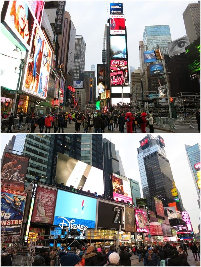 New York :: Times Square at Day and Night   Random Pics Day 7