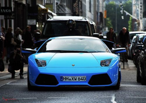 Lamborghini Murcielago In One Of The Most Beautiful Colors I Ve