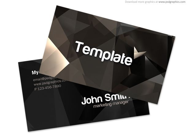 Stylish Business Card Template By Psdgraphics  Free Download