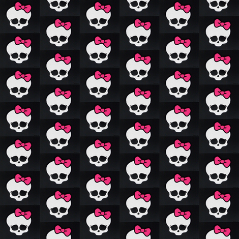 Monster High logo - alexusart - Spoonflower