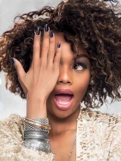 Bonang Matheba I Like Her Bracelets In 2019 Natural Hair