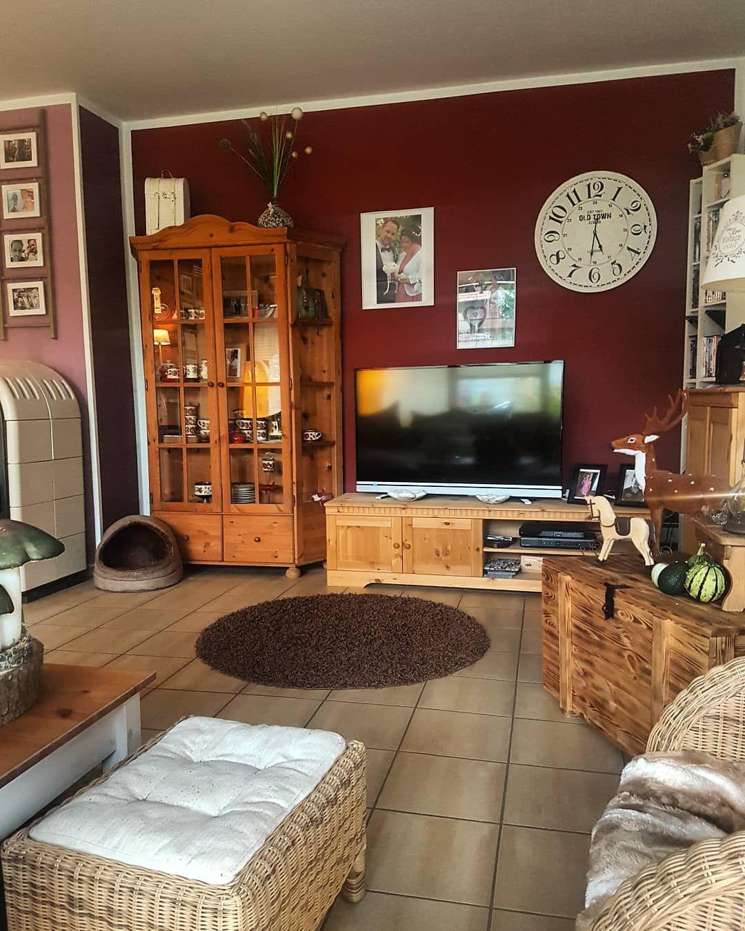 wohnzimmer #kiefernmöbel #echtholzmöbel #countryhome #cozyhome