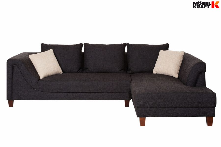 Wohnlandschaft In Anthrazit Gefunden Bei Mobel Kraft Sofa Und