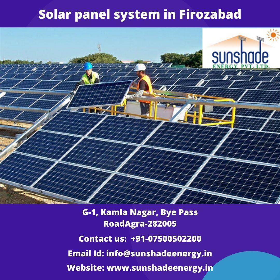 Solar Panel System In Firozabad Solar Panels Solar Solutions Best Solar Panels