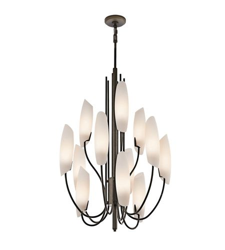 Kichler Lighting Stella 12 Light Foyer Chandelier In Olde Bronze 42215oz Kichler Lighting Chandelier Lighting
