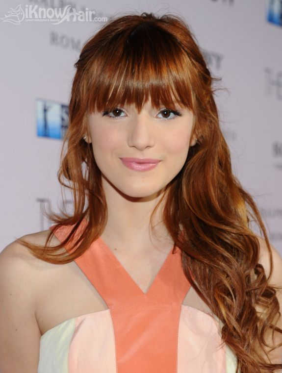 Celebrities With Red Hair Long Hair With Bangs Hair Styles 2014 Red Hair Celebrities