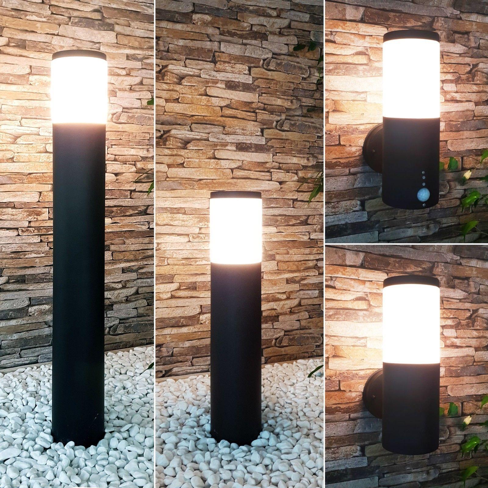 Details Zu Aussenleuchte Bewegungsmelder E27 Wandlampe Standleuchte