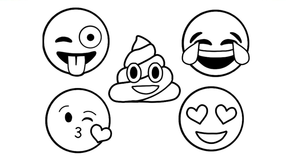 Emoji Coloring Pages Ideas To Express Your Feeling Free Coloring Sheets Emoji Coloring Pages Online Coloring Pages Coloring Pages