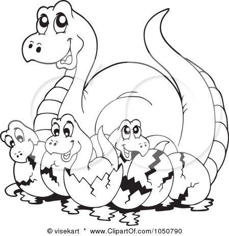 Kleurplaat Dinosaur Coloring Pages