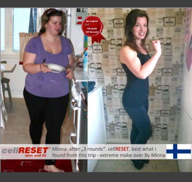 Hieno muutos kehokuurin avulla