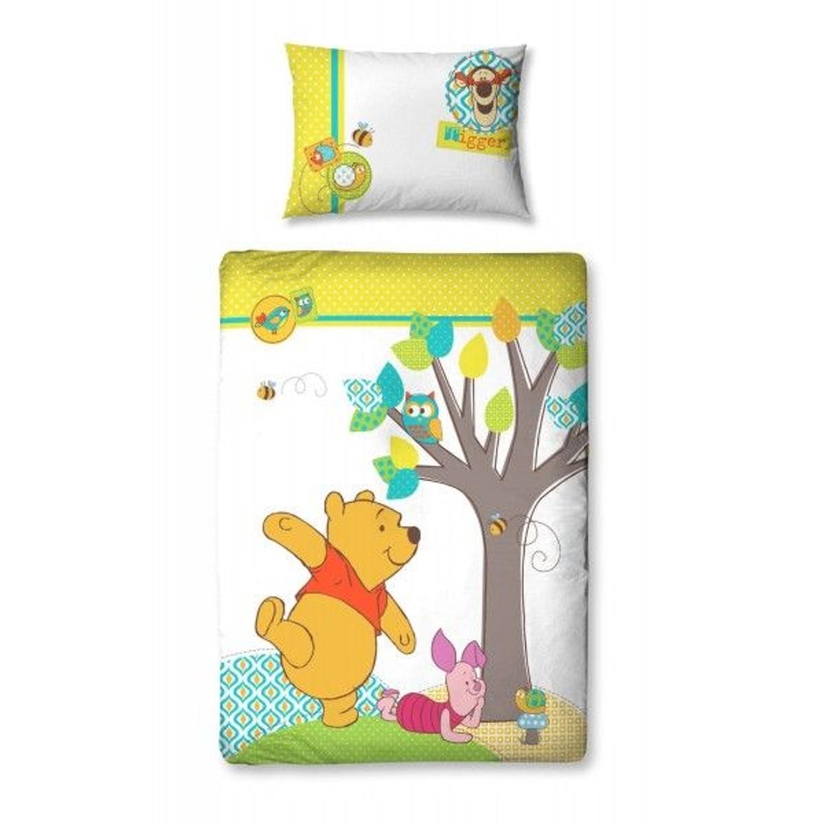 Parure de lit bébé Winnie L\'ourson Disney   Winnie the pooh ...