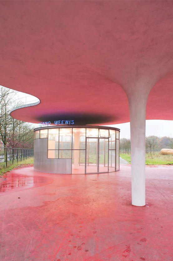 Künstlereingang Middelheim in Antwerpen #arquitectonico