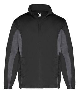 Badger Adult Drive Jacket B7703 Black/ Graphite