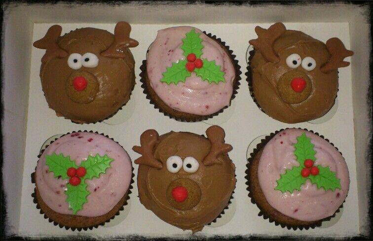 Cuocakes navideños
