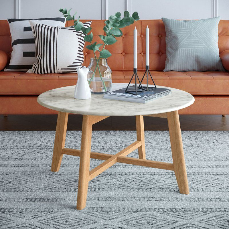 Grafton Faux Marble Coffee Table In 2019 Faux Marble Coffee