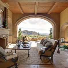 Enclosed Patio Ideas second story spanish style patio terrace architecture - google