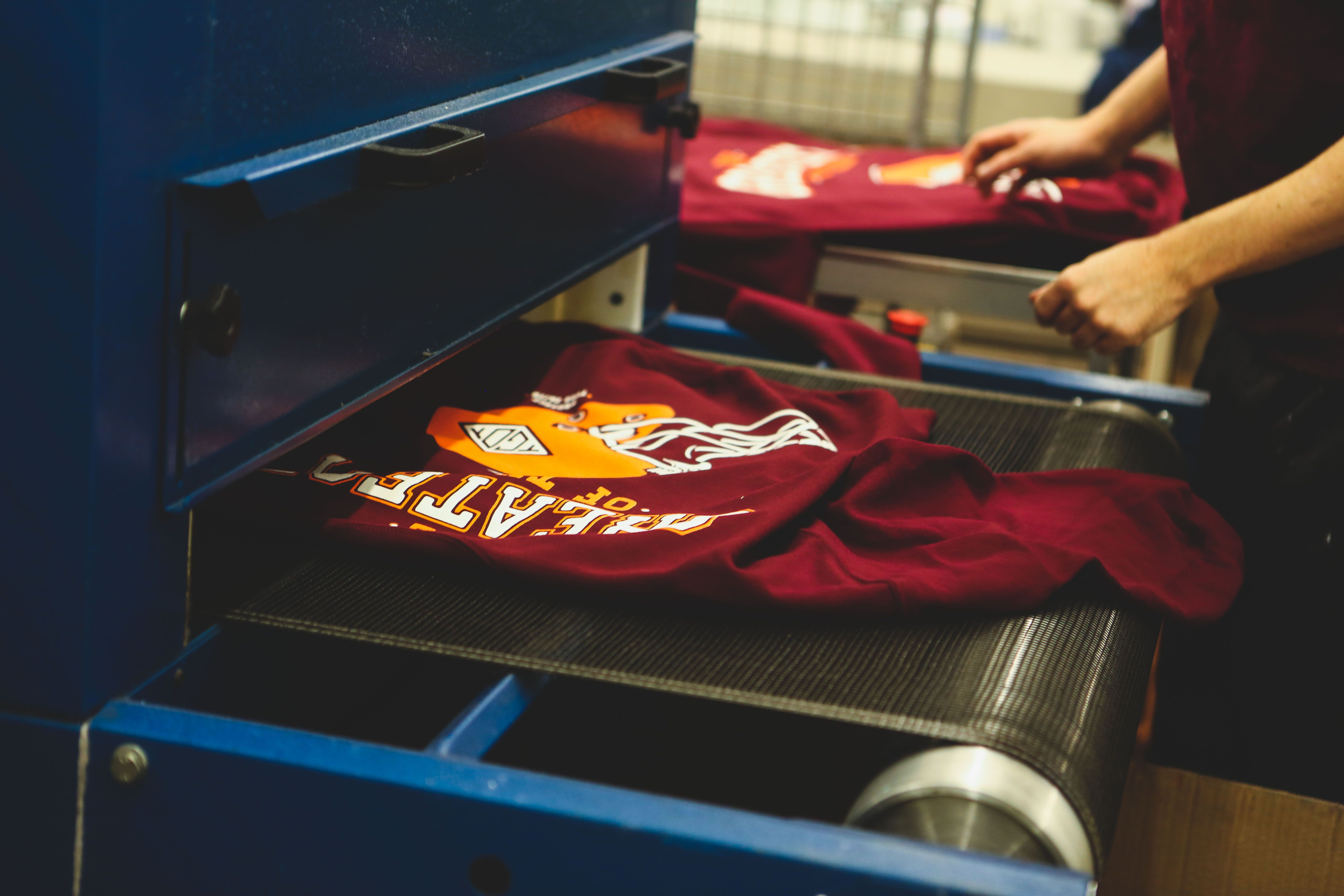 Freshly baked sweaters coming out of the oven...