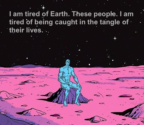 That´s right Dr. Manhattan.