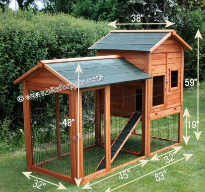 Outdoor Rabbit Cage Blueprints