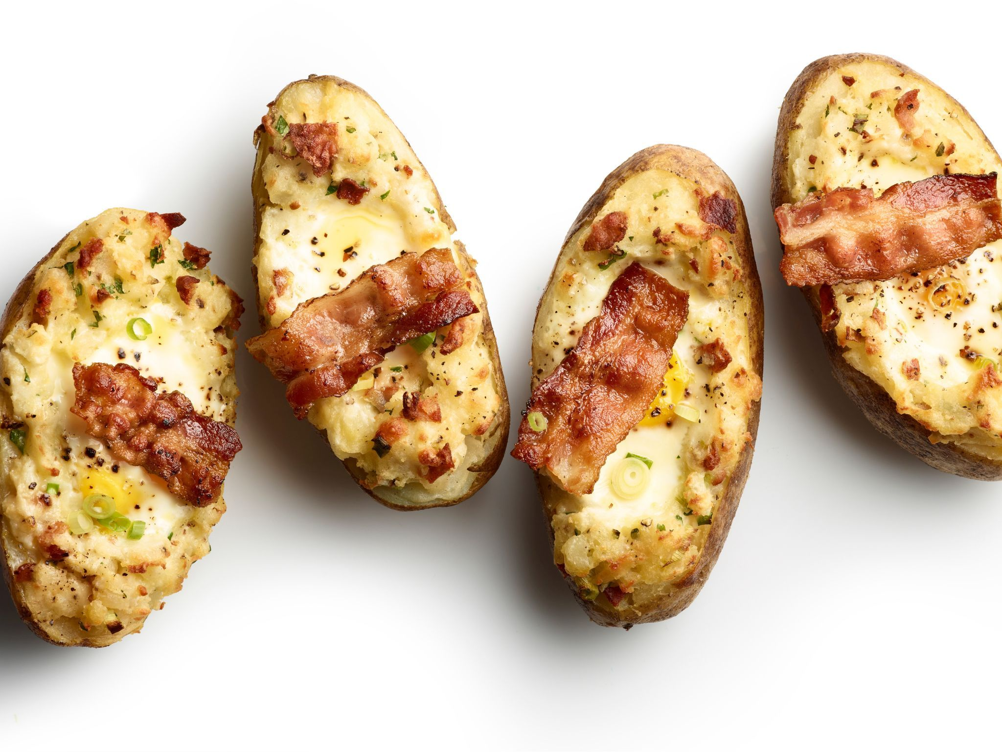 Twice baked potatoes with bacon and eggs recipe bacon egg and twice baked potatoes with bacon and eggs recipe bacon egg and foods forumfinder Gallery