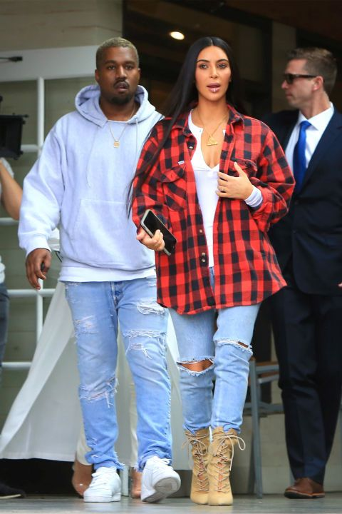 Check out Kim Kardashian West's street style evolve as the seasons have shifted, here..