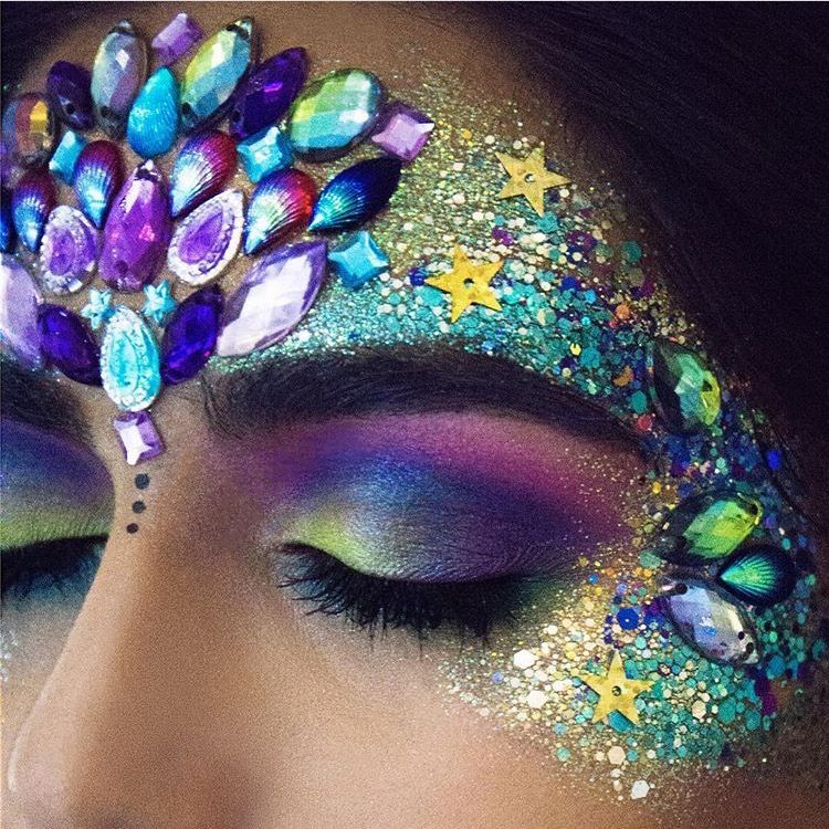 Camping With Kids Supplies Carnival Makeup Mermaid Makeup Mardi Gras Makeup