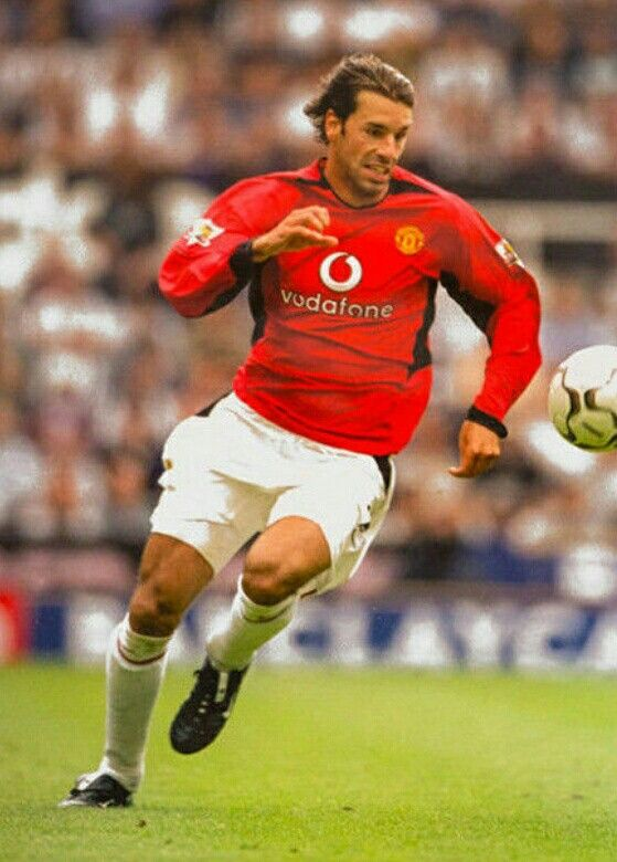 Ruud Van Nistelrooy Of Man Utd In 2002