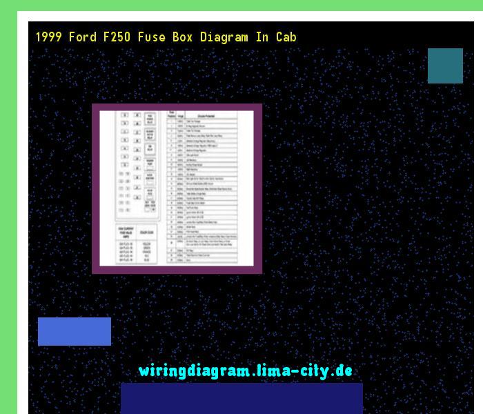 1999 ford f250 fuse box diagram in cab. Wiring Diagram ...