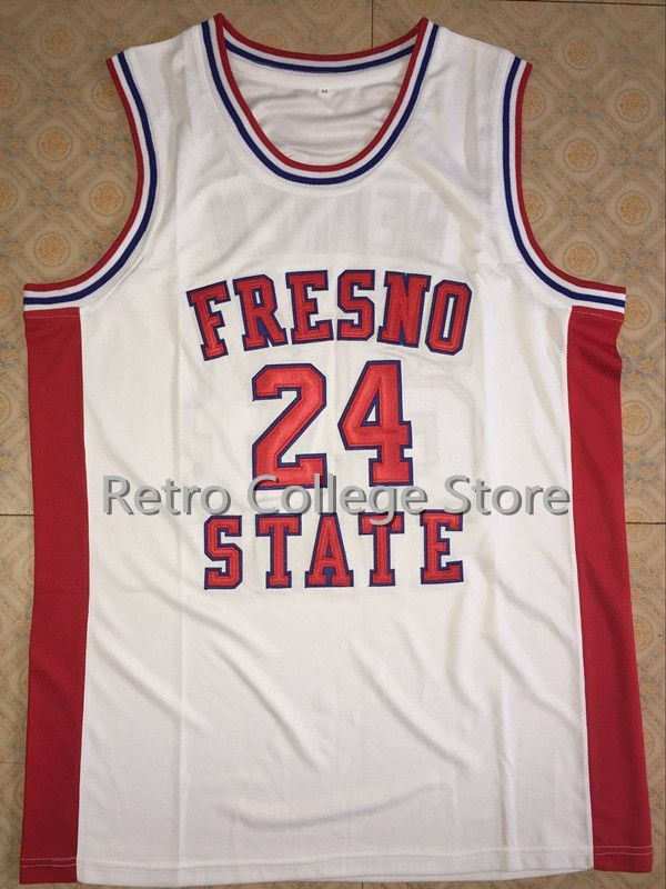 new product 50dd5 c4e18 24 Chris Herren Fresno State Jersey College Basketball ...