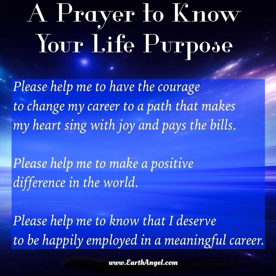 A Prayer to Know Your Life Purpose from Doreen Virtue