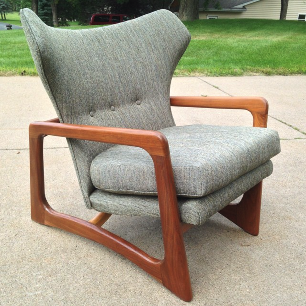 Adrian Pearsall Chair Designs Child S Desk Uk T Midcentury Modern Mid Century