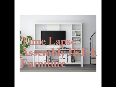 Time Lapse Ikea Furmiture Assembly Tomnas Tv Stand