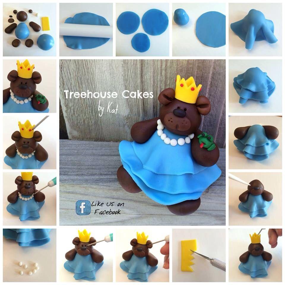 Step by Step Teddybear Princess